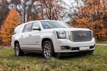 Ekskluzywny SUV GMC Yukon XL an Twój wymarzony ślub, Samochód, auto do ślubu, limuzyna Skała