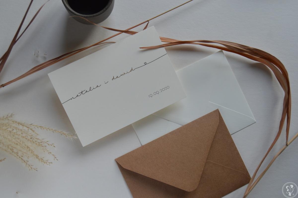zaproszenia i dodatki ślubne ręcznie robione - creative wedding, Rzeszów - zdjęcie 1