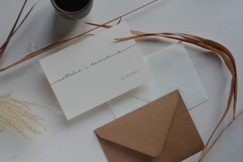 zaproszenia i dodatki ślubne ręcznie robione - creative wedding, Zaproszenia ślubne Przecław