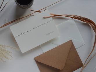 zaproszenia i dodatki ślubne ręcznie robione - creative wedding,  Rzeszów
