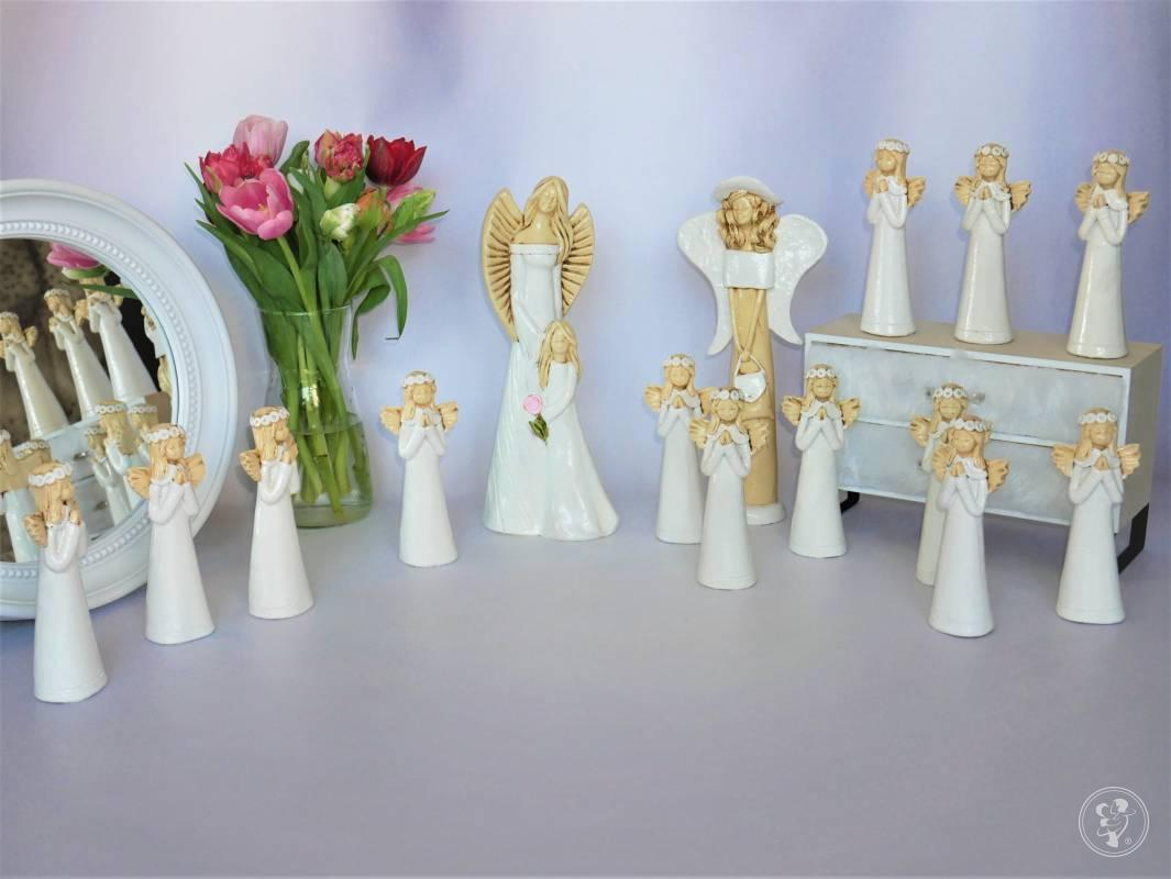 AnnExDeco - prezenty ślubne, upominki, aniołki gipsowo-ceramiczne, las, Gdańsk - zdjęcie 1