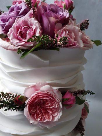 Cukiernia Dora - Ciasta, torty, bufety słodkie, paczki dla Gości., Tort weselny Szczawnica
