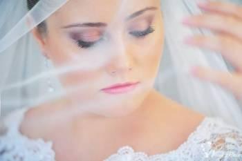 Zjawiskowy makijaż ślubny, kosmetyka, Makijaż ślubny, uroda Złoty Stok