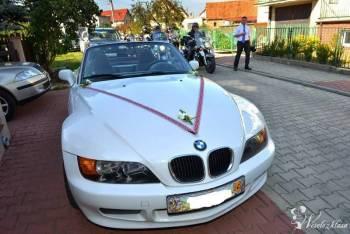 Wynajmę BMW z 3 białe cabrio do ślubu!, Samochód, auto do ślubu, limuzyna Czersk