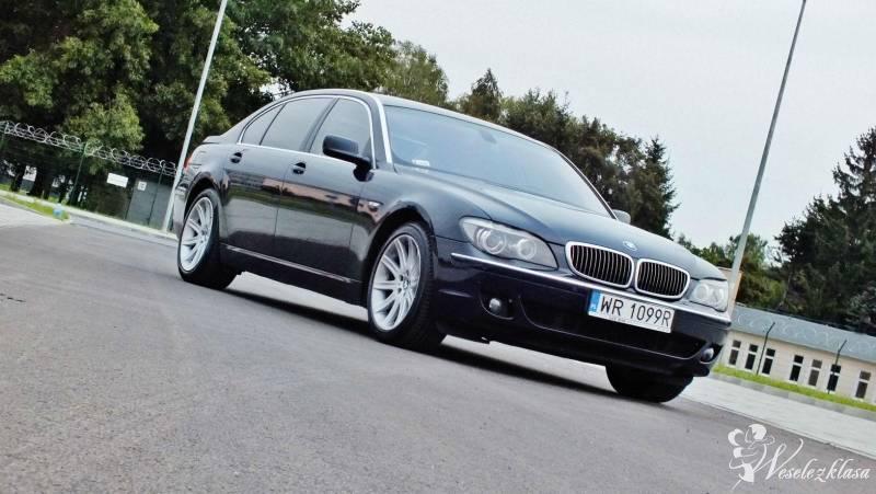Auto na wesele BMW 750 skóra full, Katowice - zdjęcie 1