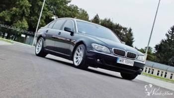 Auto na wesele BMW 750 skóra full, Samochód, auto do ślubu, limuzyna Toszek