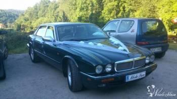 Jaguar do slubu i nie tylko 2 sztuki, Samochód, auto do ślubu, limuzyna Złoty Stok