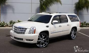 Cadillac Escalade Biały lub Czarny Podkarpacie, Samochód, auto do ślubu, limuzyna Lesko