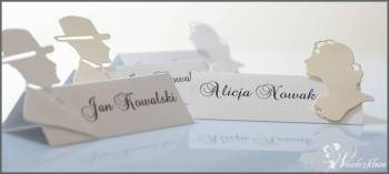 Winiety, pudełka, zawieszki weselne proCards, Artykuły ślubne Wiązów