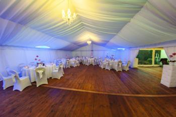Wynajem namiotów imprezowych, podłóg, stołów, krzeseł, dekoracji., Wypożyczalnia namiotów Racibórz