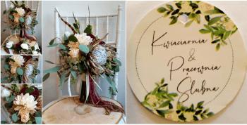 Kwiaciarnia & Pracownia Ślubna, Dekoracje ślubne Zawidów