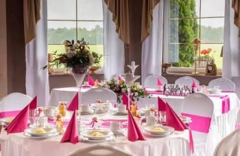 Pałacyk Leśny, Sale weselne Łazy