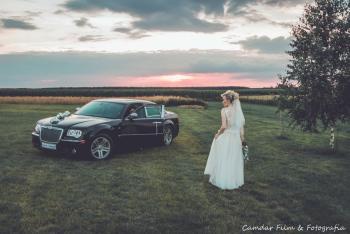 Auto do ślubu Chrysler 300C wynajem cena 400zŁ, Samochód, auto do ślubu, limuzyna Kępno