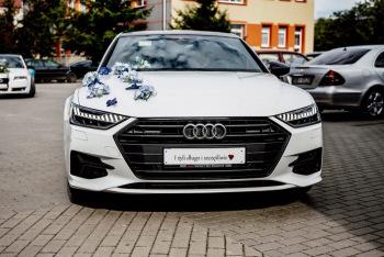 Auto do ślubu - NAJNOWSZE AUDI A7 !!