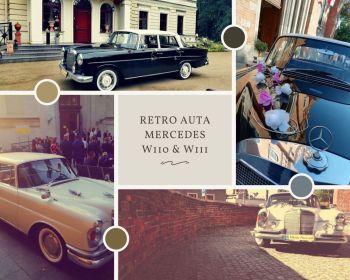 RETRO Auta do ślubu MERCEDES W110 i W111  zabytkowe, na wesele, Samochód, auto do ślubu, limuzyna Kruszwica