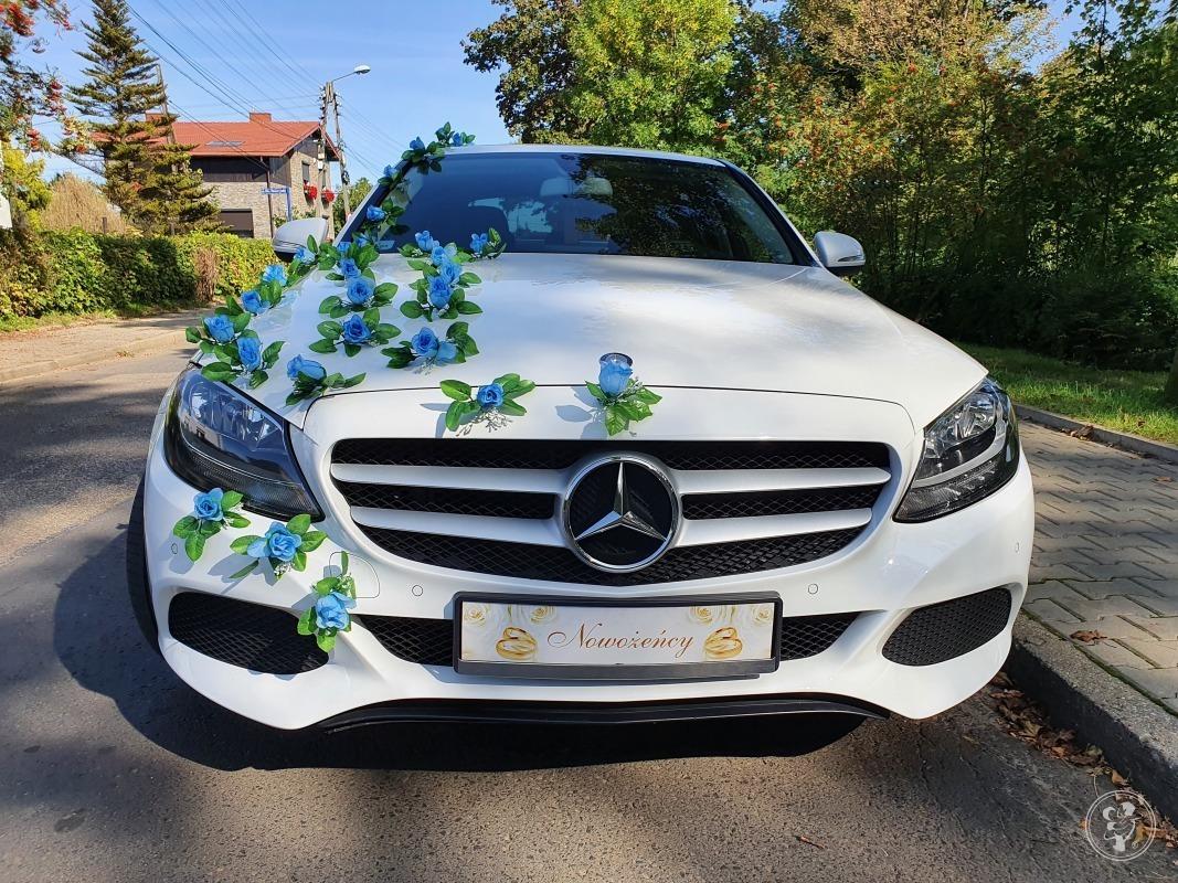 *BIAŁA* PERŁA DO ŚLUBU Mercedes c-klasa, Bytom - zdjęcie 1