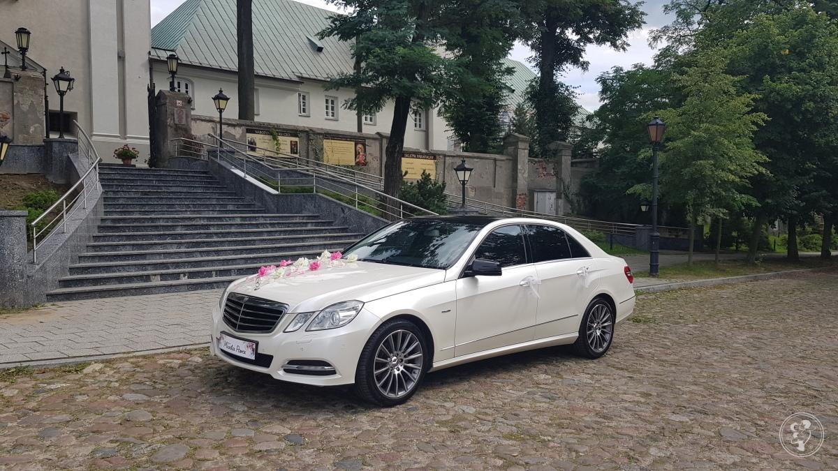 Biały Kamelon z certyfikatem. Mercedes auto samochód do ślubu od 400zł, Łódź - zdjęcie 1
