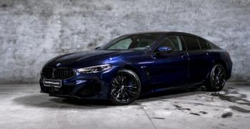 Piękne BMW Seria 8 Gran Coupe do ślubu i na inne okoliczności, Samochód, auto do ślubu, limuzyna Wołów