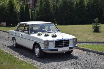 OldGear- Wynajem- Mercedes w114 / Fiat 126p, Samochód, auto do ślubu, limuzyna Ozimek