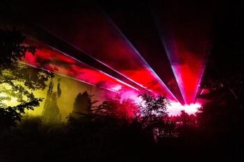 Pokaz laserowy z Firmą FIRE SHOW - pokazy laserowe i multimedialne., Pokazy laserowe Milicz