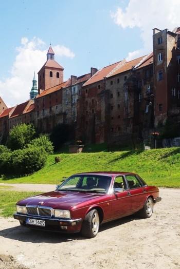Dream Day Jaguar XJ40, Samochód, auto do ślubu, limuzyna Aleksandrów Kujawski