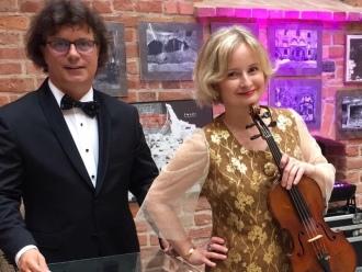 Skrzypaczka na ślub, pierwszy taniec - duet skrzypce + piano Duo Amor,  Gdańsk