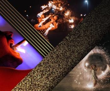 FREAKUS Taniec z ogniem! Pokazy FireShow, LightShow, Teatr ognia Łomianki