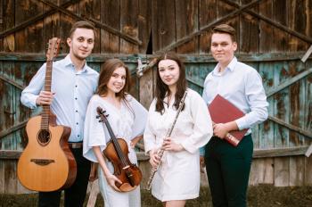 Oprawa muzyczna ślubu:  śpiew | skrzypce | gitara | flet, Oprawa muzyczna ślubu Białystok
