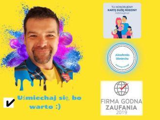 Uśmiechniete animacje dla najmłodszych-uśmiech/zabawa/bezpieczeństwo :,  Łaziska Górne