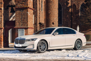 BMW 7 Aurora - Zorza Polarna. Luksusowa ultrakomfortowa limuzyna 2020r, Samochód, auto do ślubu, limuzyna Kępno