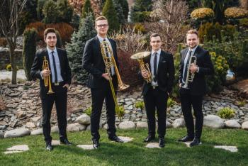 Estetique Brass Quartet - Brzmienie pełne majestatu, Oprawa muzyczna ślubu Jastrzębie-Zdrój