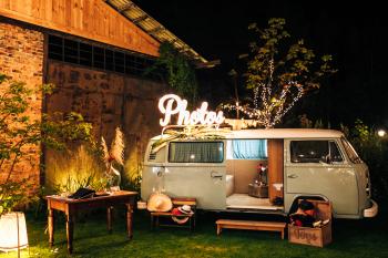 The Carbar Event C.O. Photobus Fotobudka Fotobus Volkswagen, Fotobudka, videobudka na wesele Zakroczym