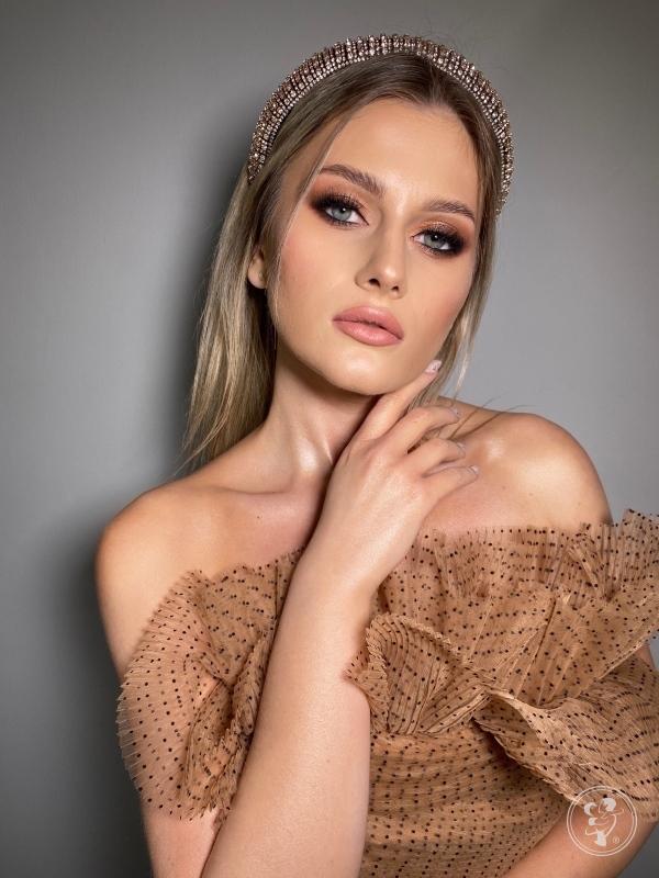 Makijaż i  fryzura ślubna  - Julia Skobel, Warszawa - zdjęcie 1
