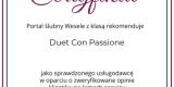 Duet Con Passione - instrumentalna oprawa muzyczna, Olsztyn - zdjęcie 5