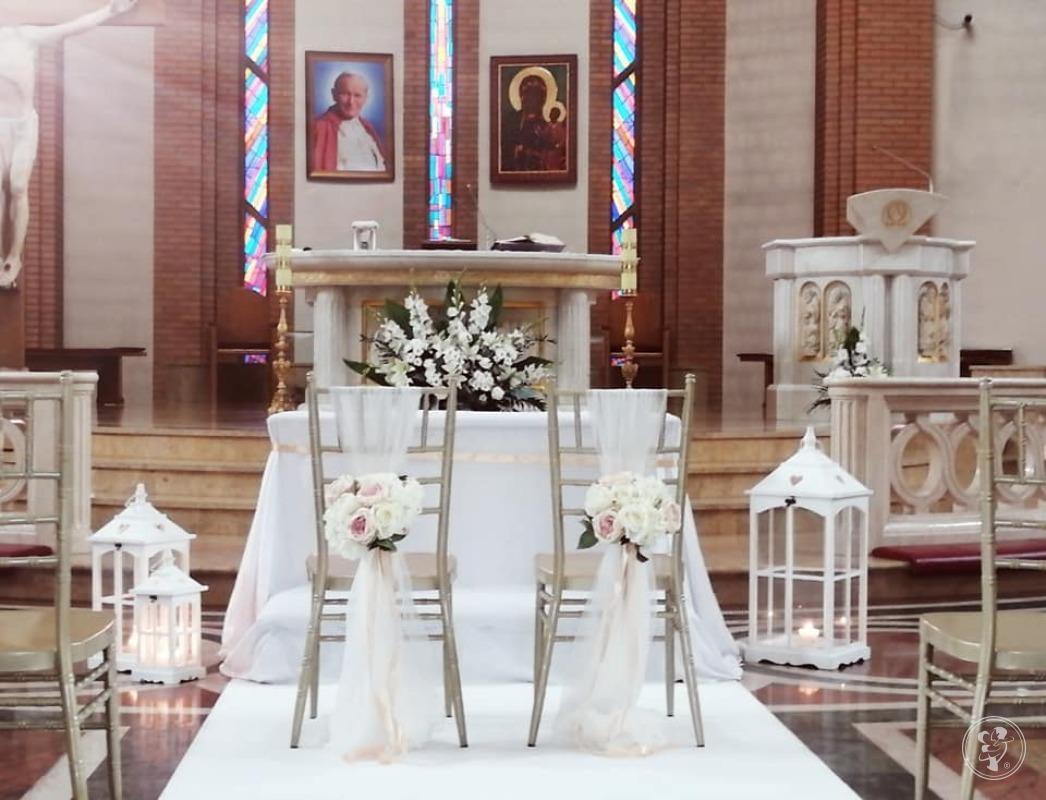Dekoracje kościołów i sal weselnych, strojenie ślub, wesele, Toruń - zdjęcie 1