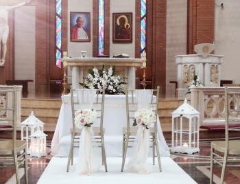 Dekoracje kościołów i sal weselnych, strojenie ślub, wesele, Dekoracje ślubne Chodecz
