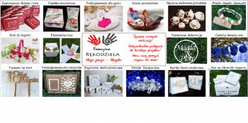 Fabryka Rękodzieła - papeteria ślubna i dodatki, Artykuły ślubne Różan