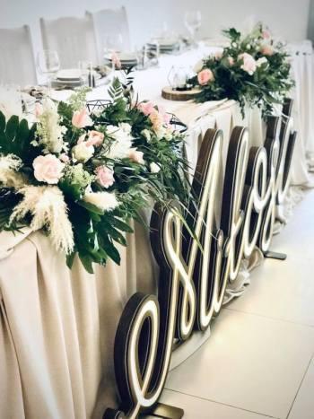 Dekoracje Plus- Pracownia dekoracji ślubnych i poligrafii oraz drewna, Dekoracje ślubne Białe Błota