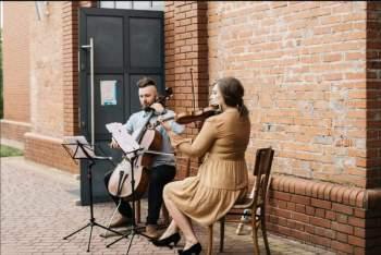 Tylko duet? ASZ DUET! - skrzypce + wiolonczela = zespół na Wasz ślub!, Oprawa muzyczna ślubu Pajęczno