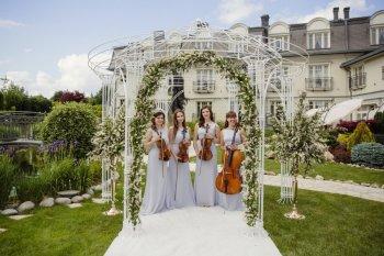 Glamour String Quartet - Skomponuj ślub swoich marzeń, Oprawa muzyczna ślubu Jastrzębie-Zdrój