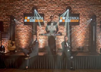 Scenika Pro Event - DJ/Konfernasjer/Sax/Tłumacz, DJ na wesele Wielichowo