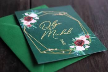 Kraft Paper - Zaproszenia ślubne, Zaproszenia ślubne Mirsk