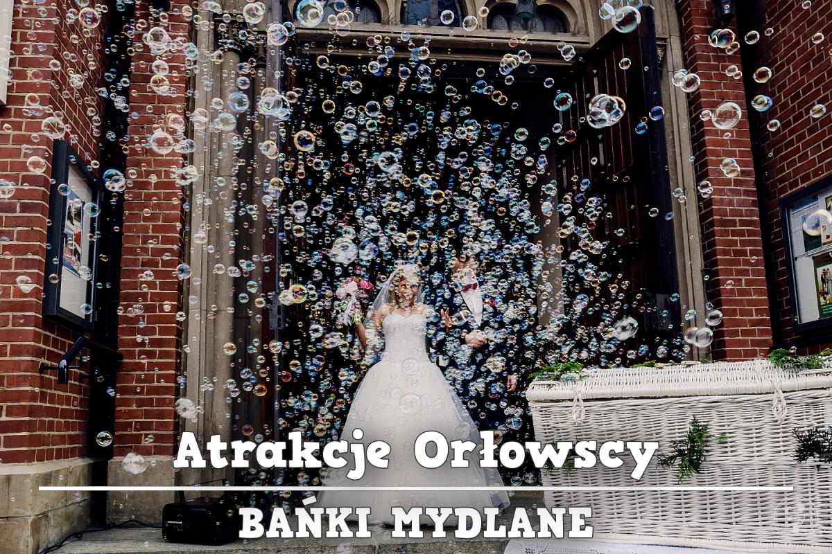 BAŃKI MYDLANE  ||  FOTOBUDKA  ||  BALONY Z HELEM  ||  PUDŁO Z BALONAMI, Katowice - zdjęcie 1