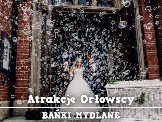 BAŃKI MYDLANE  ||  FOTOBUDKA  ||  BALONY Z HELEM  ||  PUDŁO Z BALONAMI,  Katowice