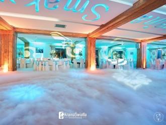 Dekoracja sali światłem - oświetlenie LED - ruchome głowy - LOVE,  Nowy Targ