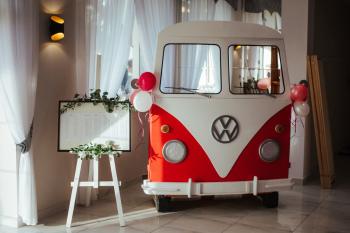 VW T1 Ogórek + zestaw gadżetów, Unikatowe atrakcje Lublin