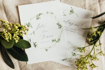 SheMakes - zaproszenia ślubne