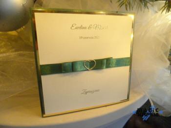 Zaproszenia ślubne ręcznie robione - Magic Surprise, Zaproszenia ślubne Pleszew