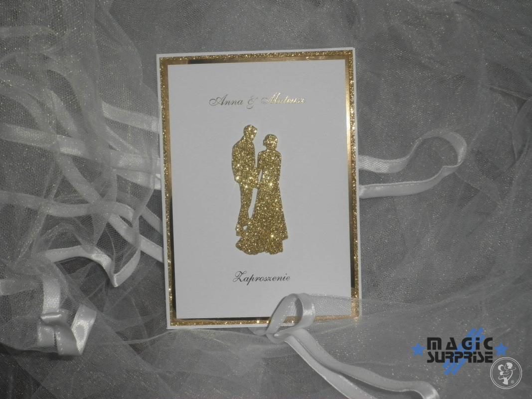 Zaproszenia ślubne ręcznie robione - Magic Surprise, Konin - zdjęcie 1