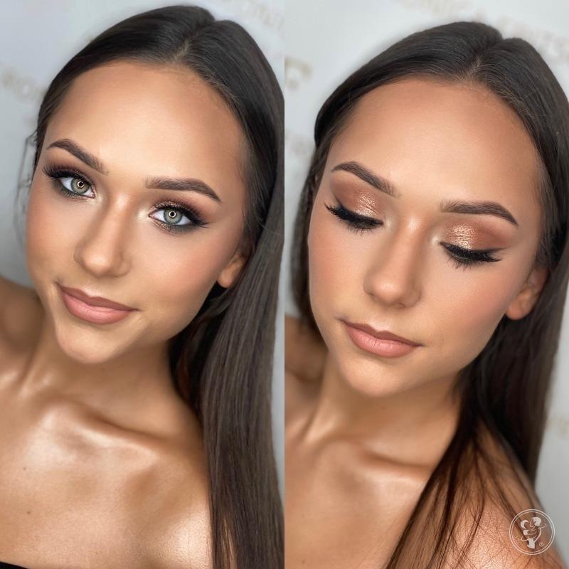 Professional Makeup Veronica Fritsch, makijaż ślubny w stylu gwiazd, Katowice - zdjęcie 1